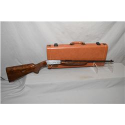 "Browning .22 long rifle semi-automatic grade III W/ hand carved engravings W/ .22LR  19 1/4"" BBL [ E"