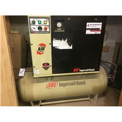 INGERSOLL RAND UP6-15CTAS-125 125 PSI 60 HZ 3 PHASE HORIZONTAL AIR COMPRESSOR - 5522 HOURS