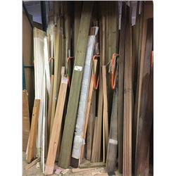 BAY OF ASSORTED LONG WOOD STOCK