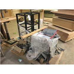PALLET OF MISC. RACKING