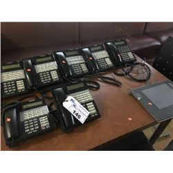 7 SAMSUNG OFFICE HANDSETS WITH OFFICE SERV 7100  & WACOM TABLET