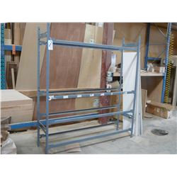 ONE SECTION METAL SHELVING