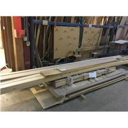 LOT OF ASSORTED WOOD STOCK