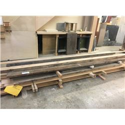 LOT OF ASSORTED WOOD