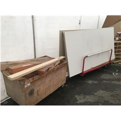 LARGE LOT OF ASSORTED WOOD