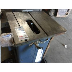 """10"""" TABLE SAW WITH GUARD & FENCE"""