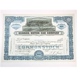 Hudson Motor Car Co., ca.1930-1940 Proof Stock Certificate