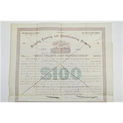 Berkeley Canning and Manufacturing Co., 1891 Cancelled Bond