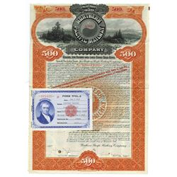 Northern Pacific Railway Co., 1896 Cancelled Bond