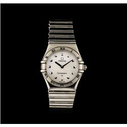 Omega Stainless Steel Constellation Ladies Watch