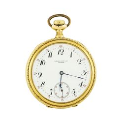 Patek Philippe & Co. Pocket Watch - 18KT Yellow Gold