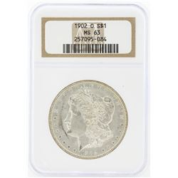 1902-O MS63 NGC Morgan Silver Dollar