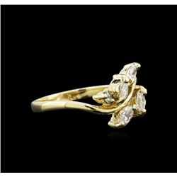 0.43 ctw Diamond Ring - 14KT Yellow Gold