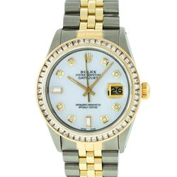 Rolex Two-Tone 2.75 ctw Diamond DateJust Men's Watch
