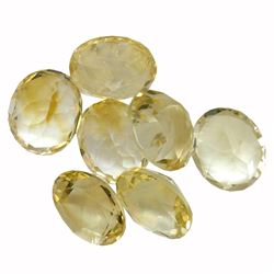 32.31 ctw Oval Mixed Citrine Quartz Parcel