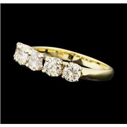 0.90 ctw Diamond Ring - 14KT Yellow Gold