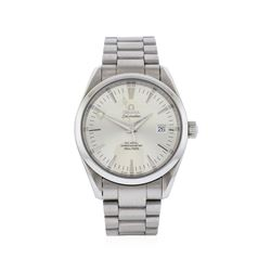 Omega Stainless Steel Seamaster Aqua Terra Watch