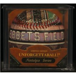 Unforgettaball!  Ebbets Field  Collectable Baseball