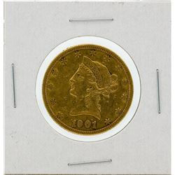 1901-S $10 VF Liberty Head Eagle Gold Coin