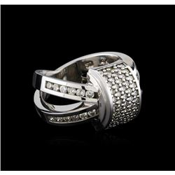 1.20 ctw Diamond Ring - 14KT White Gold