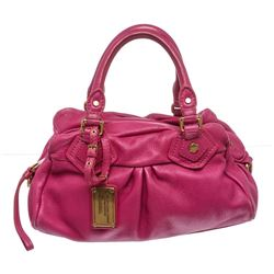 Marc by Marc Jacobs Fuchsia Pink Leather Satchel Handbag