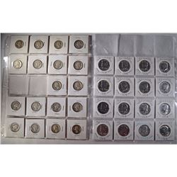 $12.50 FACE VALUE 90% SILVER, QUARTERS & KENNEDY,