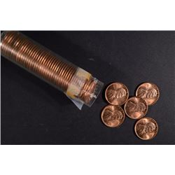 BU ROLL OF 1949 LINCOLN CENTS
