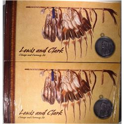 2 - LEWIS & CLARK COIN and CURRENCY SET