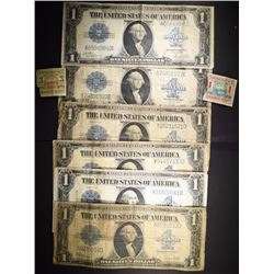6-1923 $1.00 SILVER CERTIFICATES NICE LOT