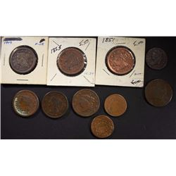U.S. COPPER COIN LOT: