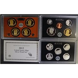 2012 U.S. SILVER PROOF SET IN ORIG BOX/C0A