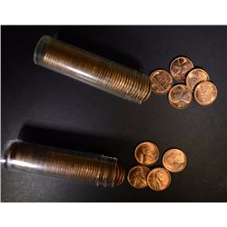 1945 & 1945-S  BU LINCOLN CENT ROLLS