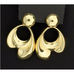 14K Large Dangle Earrings