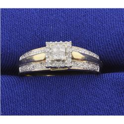 1/2 ct TW Diamond ring
