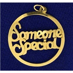 """Someone Special"" Pendant"