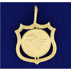 Vintage Pittsburg Penguins NHL Pendant