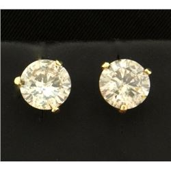 2 1/2ct TW Diamond Stud Earrings