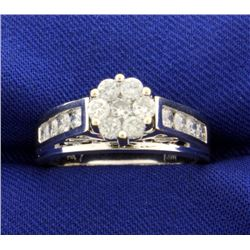 1ct TW Diamond Engagement Ring That Looks Like 2ct Ring