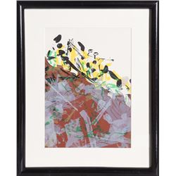 Jean-Paul Riopelle, from Derriere le Mirroir, Lithograph