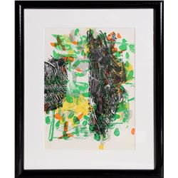 Jean-Paul Riopelle, Untitled 2 from Derriere le Mirroir, Lithograph