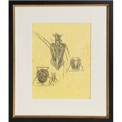Max Ernst, Hunting of the Snark, Lithograph
