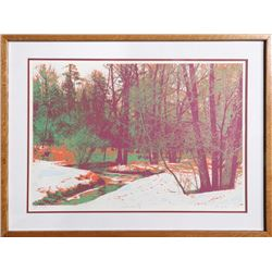 Max Epstein, Winter's Morning, Lithograph