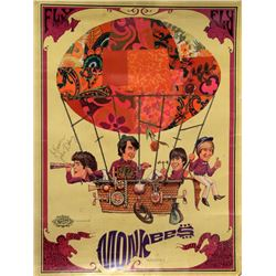 David Schiller, Monkees, Poster Autographed by John Mickey Dolenz
