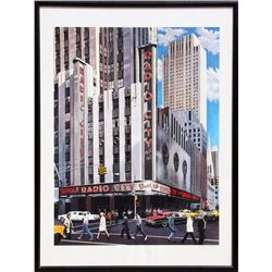 Ken Keeley, Radio City Music Hall, Serigraph