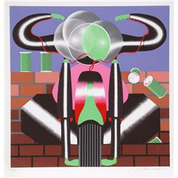 Jack Brusca, Ride, Serigraph