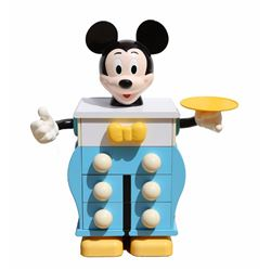 Pierre Colleu, Mickey Mouse Commodes for Starform Pair of Chests of Drawers