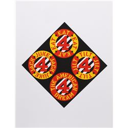 Robert Indiana, The Beware Danger, American Dream, Serigraph