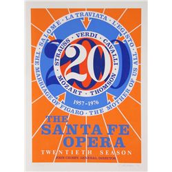 Robert Indiana, The Santa Fe Opera, Serigraph