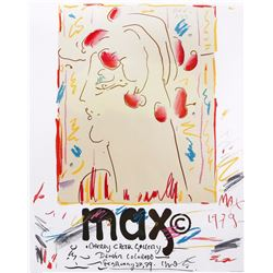 Peter Max, Cherry Creek Gallery, Colorado, Poster