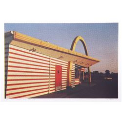 Larry Stark, IX - McDonald's (Side View), One Culture Under God, Photo Screenprint